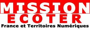 Mission Ecoter France et Territoires Numériques Logo