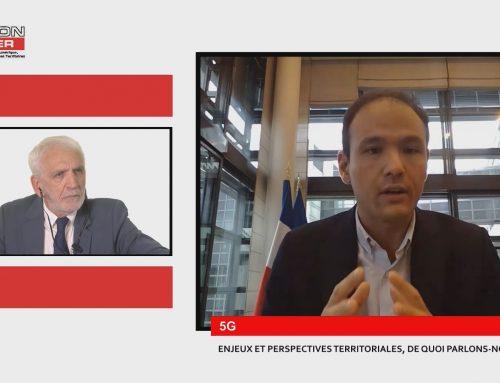 """Replay : visioconférence avec Cédric O, Secrétaire d'Etat chargé de la Transition numérique et des Communications électroniques """"5G : enjeux et perspectives territoriales, de quoi parlons-nous vraiment ?"""""""